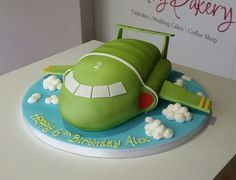 Thunderbirds Birthday Cake