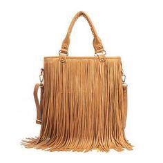 Edgy Boho Gypsy Tassle Fringe Purse Bag