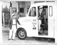 Milkman 1950 by universalstonecutter, via Flickr