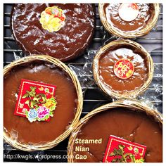 Steamed Or Baked Nian Gao