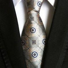 Men's Ties New Man Fashion Neckties Corbatas Gravata Jacquard Silk Tiedresskily Formal Tie, Men Formal, Formal Wear, Men's Fashion, Fashion Vintage, Fashion 2018, Luxury Fashion, Fashion Design, Fashion Pattern