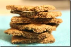 almond cinnamon crackers