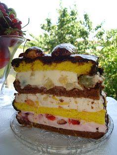 Romanian Food, Tutti Frutti, Tiramisu, Caramel, Cheesecake, Food And Drink, Ice Cream, Sweets, Cooking