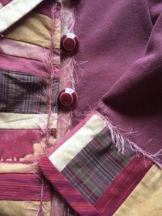 Sweatshirt Quilted Ladies Jacket Woman's by LondasCreativeSewing