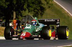 Eddie Cheever Alfa Romeo 1985
