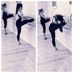 Niki doing her dance