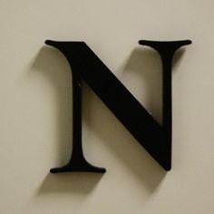 Sisustuskirjaimet ja -numerot musta 2,95€/kpl ja sanaksi LUKA eli yht 11,80€ Symbols, Glyphs, Icons