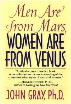 """The Educated Crown's """"What Are You Reading?"""" series. My favorite self-help book: """"Men Are from Mars, Women Are from Venus"""" by John Gray, Ph.D."""