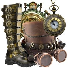 Steampunk Clothing, Steampunk Jewelry and Steampunk Accessories by Medieval Collectibles