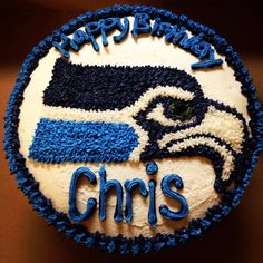 Birthday Cakes - Seattle Seahawks
