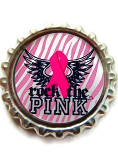 BREAST CANCER AWARENESS Motivational Magnet by TammysAccessories, $2.50