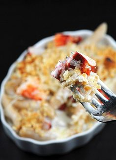 Seafood Recipes : Gouda and lobster mac and cheese