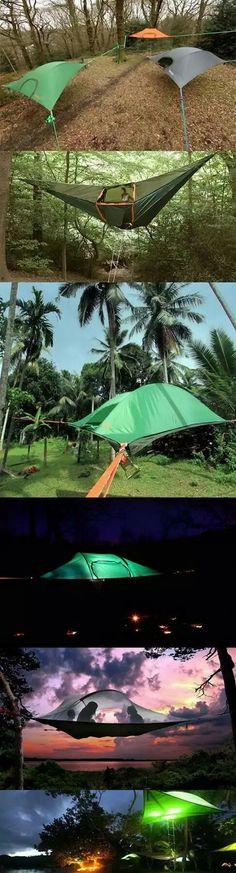 Carpa-cosas para acampar