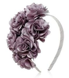 Diy ribbon flower with beads grosgrain flowers with beads t Carnation Bouquet, Carnations, Floral Headbands, Baby Headbands, Fascinator Hats, Fascinators, Headpieces, Alice Band, Head Wrap Headband