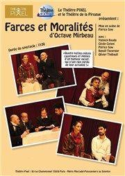 Farces et Moralités Théâtre Pixel Affiche