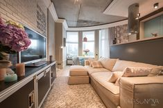 Современная квартира для девушки в Киеве (51 кв. м)