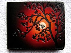 leather artists, Murray and Annette Anderson.