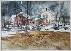 Watercolor, Painting, Image, Art, Pen And Wash, Art Background, Watercolor Painting, Watercolour, Painting Art