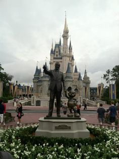Partners Statue Walt Disney World