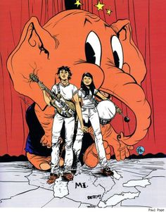White Stripes by Paul Pope