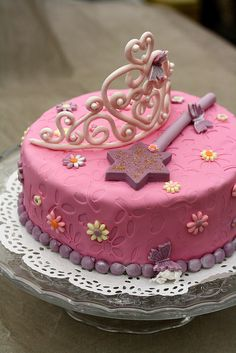 Gâteau de vraie fille #cake #princess #girly
