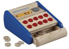 Cash Register Wooden. AU $18