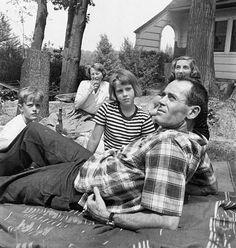 Jane, Peter & Henry Fonda, 1949