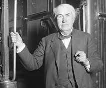 Edison with cigar posing at train stairs Alva Edison, Inventors, Cigar, Stairs, Train, Poses, Fictional Characters, Figure Poses, Stairway