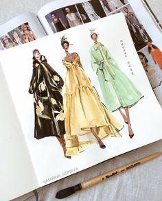 Fashion Model Sketch, Fashion Design Sketchbook, Fashion Design Portfolio, Fashion Design Drawings, Fashion Sketches, Dress Sketches, Art Sketchbook, Fashion Drawing Dresses, Fashion Illustration Dresses