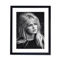 Every home should have at least 1 Brigitte Bardot black & white framed pic ✌️