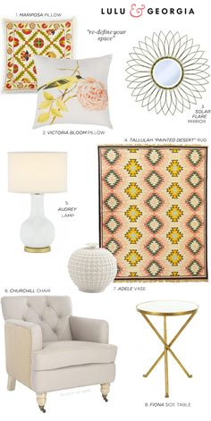 such pretty home decor accessories from @Lulu & Georgia