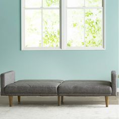 Found it at Wayfair - Pryce Linen Convertible Sofa