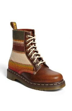 Pendleton for Dr. Martens Boot available at #Nordstrom ... Santa???? I really like these