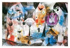 Paul Klee - Concentrierter Roman 1960