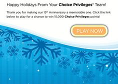 Choice Priveleges Jewel Game- Win 15,000 Points - Michael W Travels...