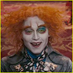 Love the make-up for the Mad Hatter