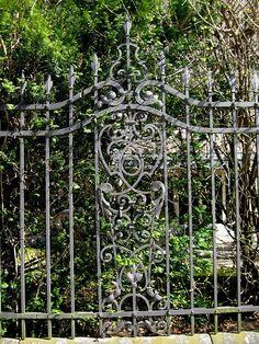 Serious gate.