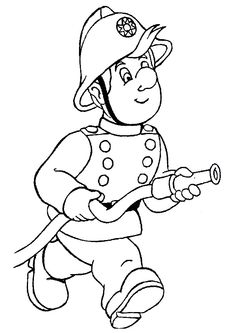 Fire Fighter Coloring Page Inspirational Firefighter Coloring Pages Free Coloring Pages Truck Coloring Pages, Cartoon Coloring Pages, Coloring Pages To Print, Printable Coloring Pages, Coloring Pages For Kids, Coloring Sheets, Coloring Books, Fireman Sam, Fire Safety Crafts