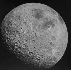 F5 myths about the moon   EarthSky 10/1/17 Myth 1 is that moon has a permanent dark side. This is the far side of the moon, as photographed by Apollo 16 in 1972. See? It isn't dark. Image via NASA