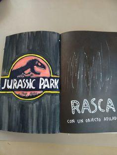 Mi página favorita! Habéis visto jurassic park o jurassic world? A mi me encanta! Wreck this journal Destroza este diario Rasca con un objecto afilado