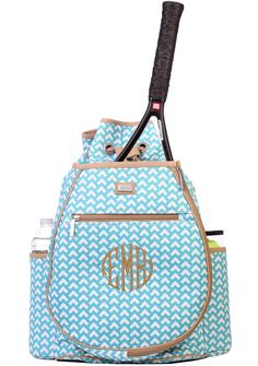 Ranger Monogrammed Tennis Backpack