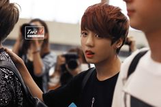 BTS @ 140718 Gimpo Airport Departure to Japan