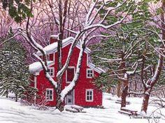 Thelma Winter, Artist ~ Clarksburg Old Mill c2002