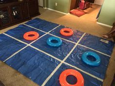 Sontreasure island vbs- swim ring tic-tac-toe