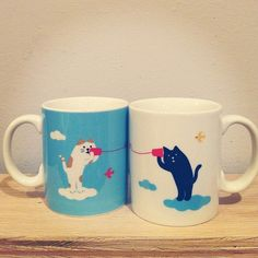 "Cute mugs #omoizakkashop"""