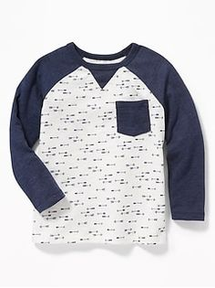 Old Navy Arrow-Print Raglan Pocket Tee for Toddler Boys Toddler Boy Outfits, Baby Kids Clothes, Toddler Boys, Arrow Print, Shop Old Navy, Boys Shirts, Sweater Jacket, Boy Fashion, Tees