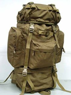 Rucksack Backpacks - Pin it :-) Follow Us :-)) zCamping.com is your Camping Product Gallery ;) CLICK IMAGE TWICE for Pricing and Info :) SEE A LARGER SELECTION of rucksack backpacks  at http://zcamping.com/category/camping-categories/camping-backpacks/rucksack-backpacks/ -  hunting, bags,camping, backpacks, camping gear, camp supplies -   65L Combat Rucksack Camping Backpack Coyote Brown « zCamping.com