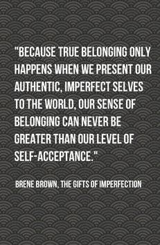 true belonging - Brene Brown