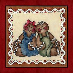 Borboleta Azul: Bonecos Ginger