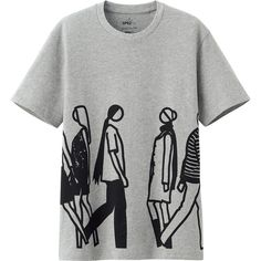 Just bought this ... Rock it ... (JULIAN OPIE) Uniqlo Shorts, Cool Style, Cloths, Style Fashion, Kleding, Fabrics, Tejidos, Textiles